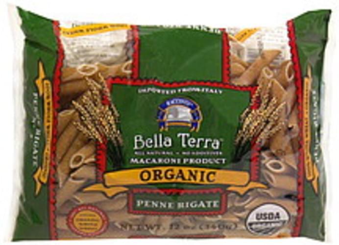 Bella Terra Organic Penne Rigate 12 Oz Pasta - 12 pkg