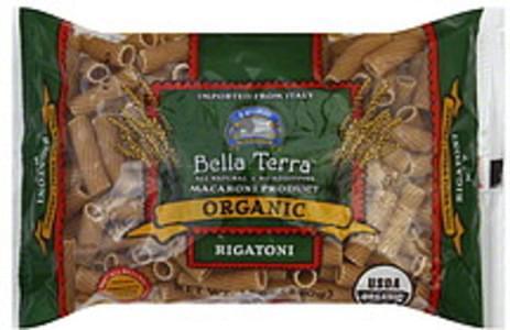 Bella Terra Organic Pasta Rigatoni 12 Oz