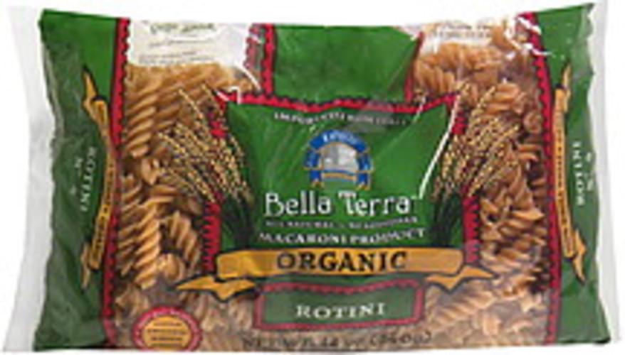 Bella Terra Organic Rotini 12 Oz Pasta - 12 pkg