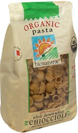 Bionaturae Chiocciole 16 Oz Pasta - 6 pkg