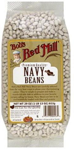 Bob's Red Mill Navy Beans Premium Quality 29 Oz
