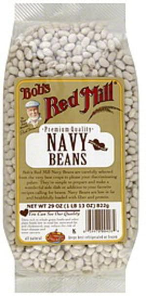 Bob's Red Mill Premium Quality 29 Oz Navy Beans - 4 pkg