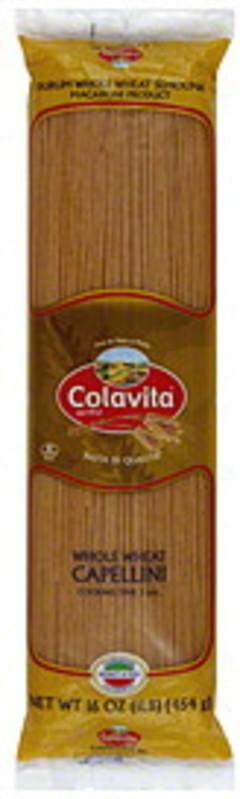 Colavita Capellini Whole Wheat 1 Lb