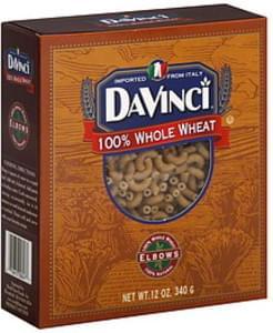 Davinci Pasta Whole Wheat Elbows 12 Oz