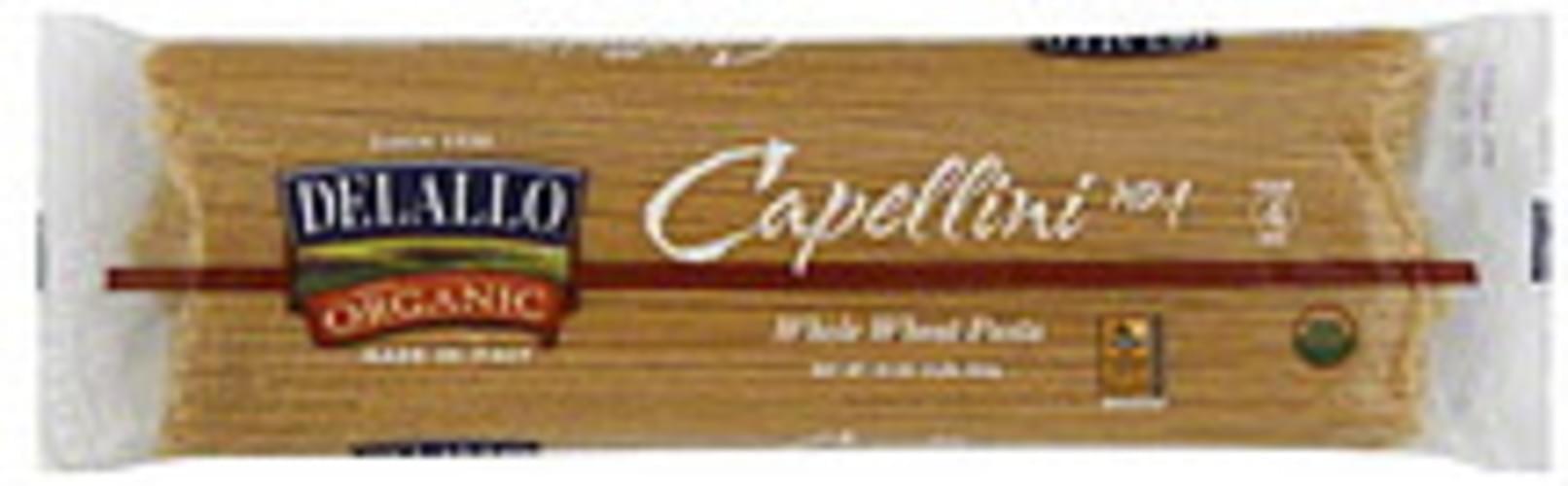 Delallo Capellini 16 Oz Pasta - 16 pkg