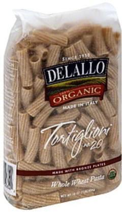 DeLallo Rigatoni Whole Wheat 16 Oz