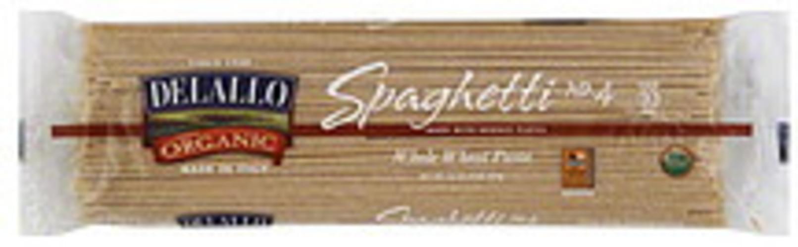 Delallo Spaghetti 16 Oz Pasta - 16 pkg