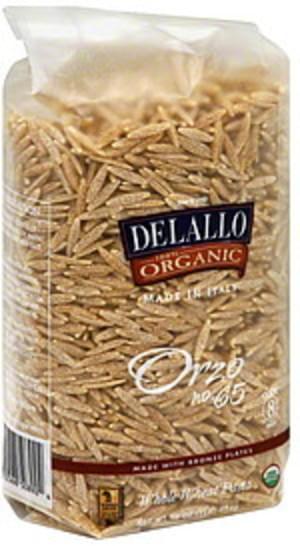 DeLallo Orzo 1 Lb Pasta - 16 pkg