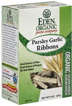 Eden Parsley Garlic Ribbons 8 Oz Pasta