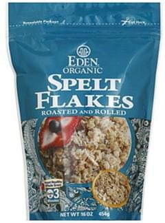 Eden Spelt Flakes Roasted and Rolled 16 Oz