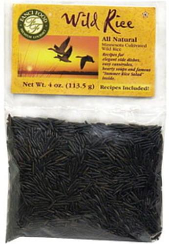 Fanci Food All Natural Minnesota Cultivated 4 Oz Wild  Rice - 12 pkg