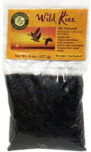 Fanci Food All Natural 8 Oz Wild Rice - 12 pkg