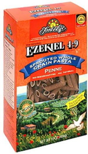 Ezekiel 4:9 Sprouted Grain Penne 16 Oz Pasta - 6 pkg