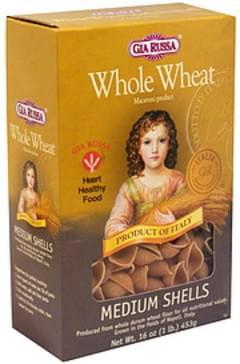 Gia Russa Medium Shells Macaroni Product