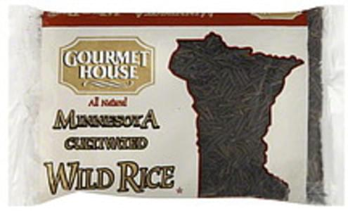 Gourmet House Wild Rice Minnesota Cultivated 8 Oz