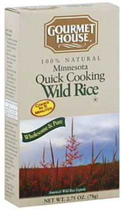 Gourmet House Rice Wuick Cooking Wild 2.75 Oz
