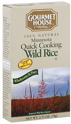 Gourmet House Wuick Cooking Wild 2.75 Oz Rice - 6 pkg