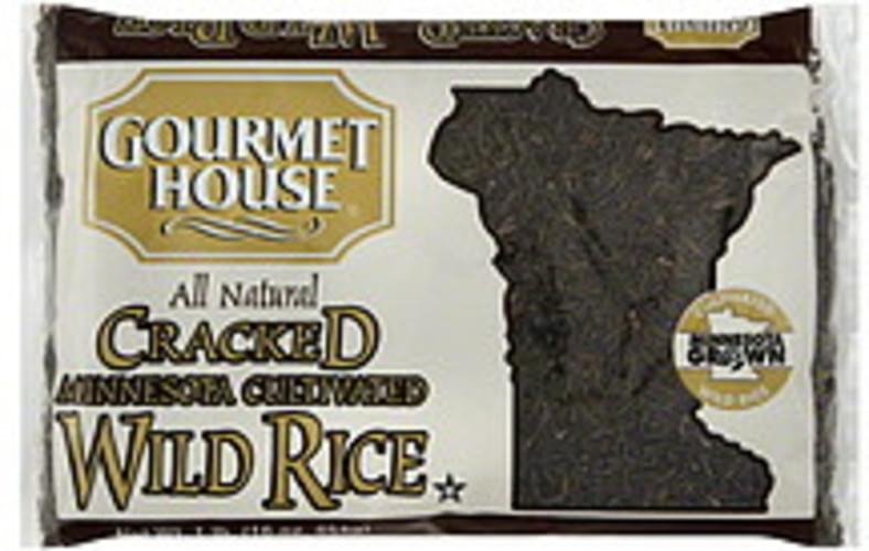 Gourmet House Cracked Minnesota Cultivated 1 Lb Wild Rice - 12 pkg