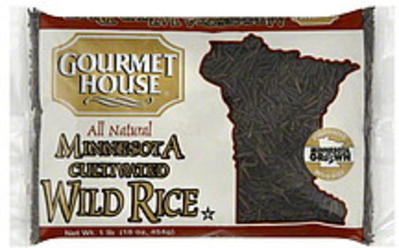 Gourmet House Minnesota Cultivated 16 Oz Wild Rice - 12 pkg