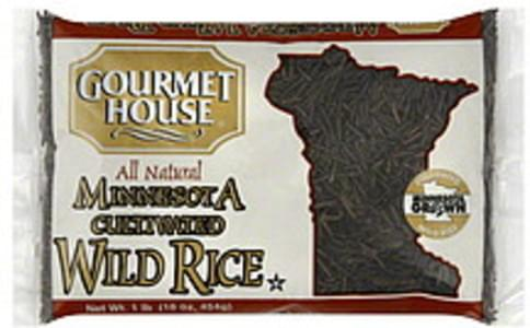 Gourmet House Wild Rice Minnesota Cultivated 16 Oz