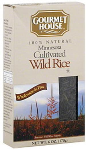 Gourmet House Wild 6 Oz Rice - 6 pkg