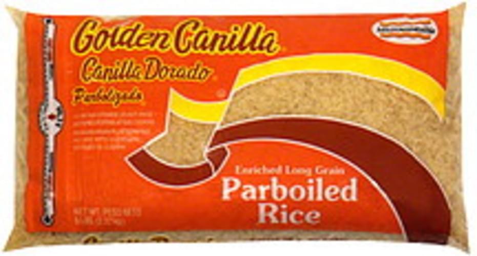 Goya Parboiled 5 Lbs Rice - 12 pkg
