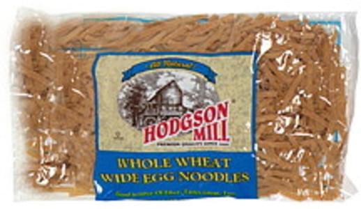 Hodgson Mill Egg Noodles Whole Wheat Wide 12 Oz
