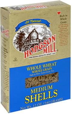 Hodgson Mill Medium Shells Whole Wheat 12 Oz