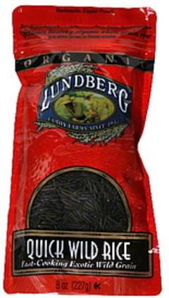 Lundberg Family Farms Wild Rice Quick 8 Oz