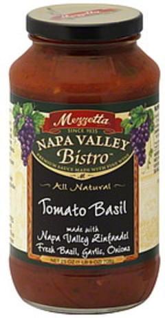 Mezzetta Pasta Sauce Tomato Basil 25 Oz