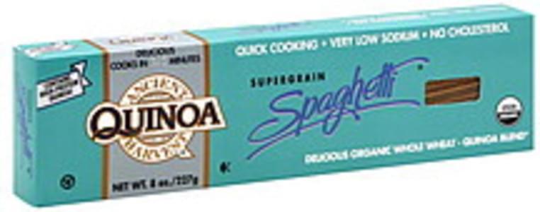 Ancient Harvest Quinoa Pasta Supergrain Spaghetti 8 Oz