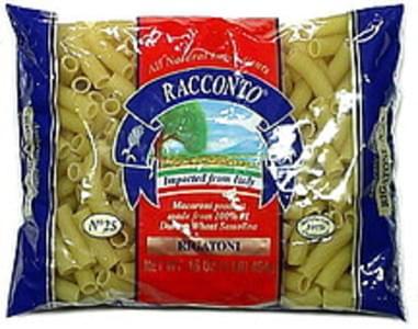 Racconto Pasta Rigatoni 16 Oz