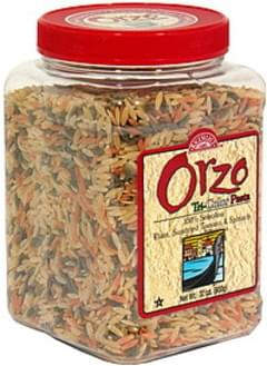 Rice Select Pasta Tri-Color Orzo 31 Oz