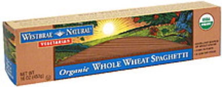Westbrae Natural Whole Wheat 16 Oz Spaghetti