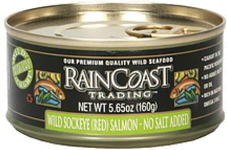 Raincoast Trading Salmon Wild Sockeye (Red) 5.65 Oz