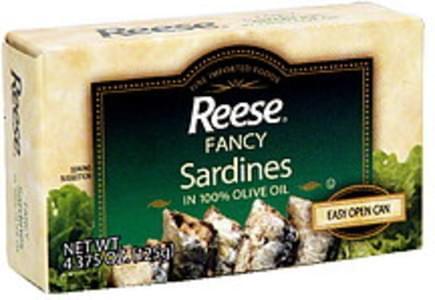 Reese Sardines Fancy 4.375 Oz