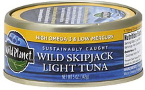Wild Planet Tuna Wild Skipjack Light 5 Oz