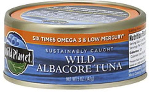 Wild Planet Wild Albacore 5 Oz Tuna