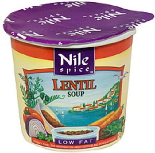 Nile Spice Lentil 1.8 Oz Soup Cup - 12 pkg