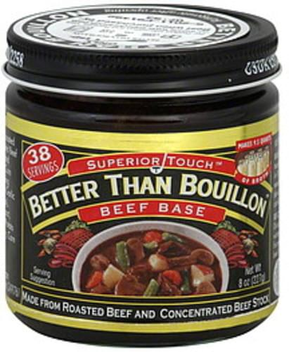 Superior Touch Better Than Bouillon 8 Oz Beef Base - 6 pkg