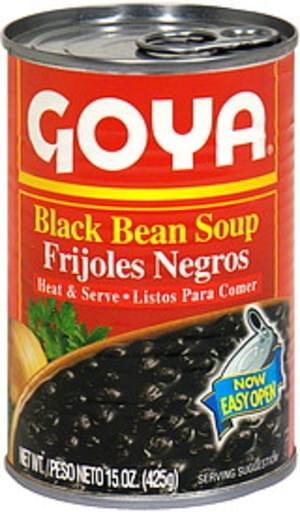 Goya Black Bean 15 Oz Soup - 24 pkg