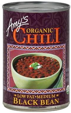 Amy's Kitchen Organic Black Bean 14.7 Oz Chili