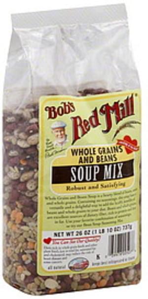 Bob's Red Mill Whole Grain & Beans 26 Oz Soup Mix - 4 pkg
