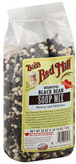 Bob's Red Mill Bountiful Black Bean 26 Oz Soup Mix - 4 pkg
