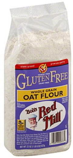 Bob's Red Mill Flour Whole Grain Oat 22 Oz