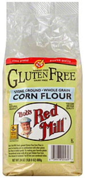 Bob's Red Mill Corn Flour Gluten Free 24 Oz - 4 pkg