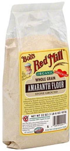 Bob's Red Mill Amaranth Stone Ground 22 Oz Flour
