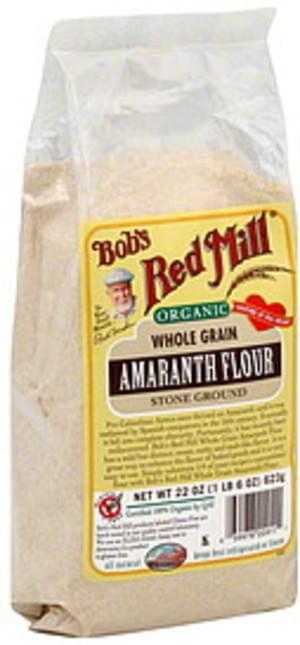 Bob's Red Mill Flour Amaranth Stone Ground 22 Oz - 4 pkg
