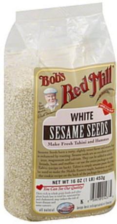 Bob's Red Mill Sesame Seeds White 16 Oz