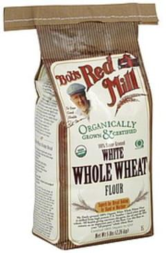 Bob's Red Mill Flour White Whole Wheat 5 Lbs